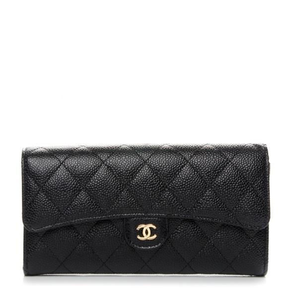 0ce85b3d9229 CHANEL Bags | Bnwt Classic Long Gusset Flap Wallet | Poshmark
